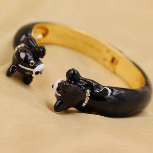 Kate Spade Ma Cherie Antoine Dog Cuff Bracelet